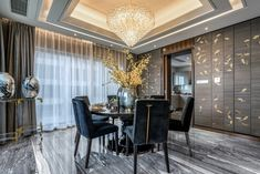 Dining Room decor ideas for your home | Luxury dining room | www.bocadolobo.co #diningroom #interiordesign #moderndiningtable