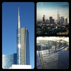 Another facet of my city's Beauty - the Spire building - Porta Nuova skyline - Piazza Gae Aulenti - Milan