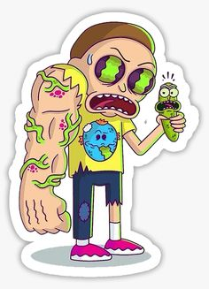 Smoke Drawing, Pop Art Drawing, Alien Drawings, Disney Drawings, Cool Stickers, Bumper Stickers, Phone Wallpaper Boho, Rick And Morty Drawing, Fashion Sketch Template