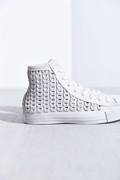 Converse All-Star Woven Suede High-Top Sneaker