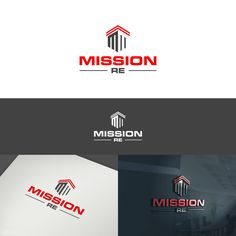 Commercial real estate needs a logo to make real estate sign memorable by Aisya™