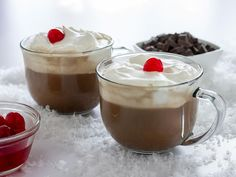 You will be surprised at how much this cold weather cocktail tastes like your favorite chocolate covered cherries. Pour a hot cup to chase away the chill.