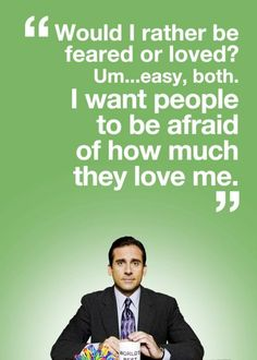 Love Michael Scott