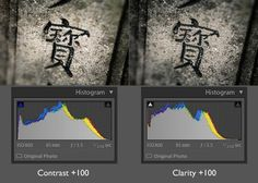 Using the Clarity slider in Lightroom