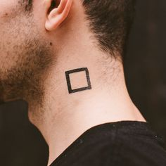 Square tattoo