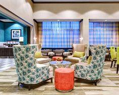 Hampton Inn & Suites Atlanta Perimeter Dunwoody Hotel, GA - Lobby Seats