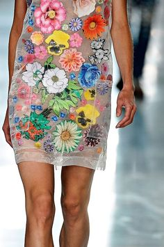 paintdeath:  Christopher Kane Spring 2012 RTW - details