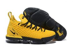 28faf19736382 Nike LeBron 16 Yellow Black PE Shoes On Sale-4 Nike Lebron
