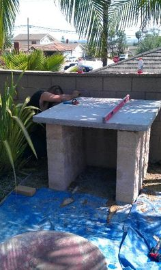 There's nothing better than a DIY Wood Fired Brick Pizza Oven next to a sparkling pool in Sunny California! This oven was built using the Mattone Barile Grande foam oven form.