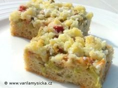 Rhubarb Recipes, Sweet Recipes, Macaroni And Cheese, Cheesecake, Health Fitness, Recipies, Yummy Food, Sweets, Cookies