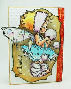 Elizabeth Allan's Art Studio: Winter Fairy