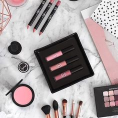 My #SigmaBeauty loves 💗💄💋 repost via @flipandstyle Products Featured: Lovesick, Indulgent, Go-Dutch Lip Bases Oh Kitten, Seal of Approval Rosette Lip Eclipses Cor-de-Rosa Aura Powder Blush F05 Small Contour F35 Tapered Highlighter E52 Soft Focus Shader E30 Pencil E37 All Over Blend
