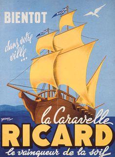 La Galerie Ricard, IMP Speciale Ricard Marseille - Ricard S.A. 1952-1957.