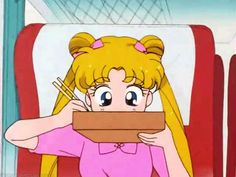 sailor moon....noodle time !!! Yum