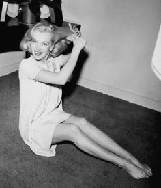 Marilyn Monroe, 1949.