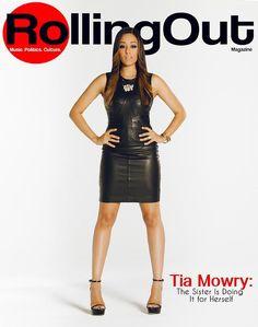 Tia Mowry: Styled by: Marian Ingram