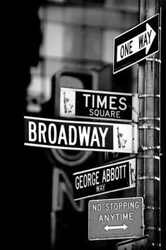 LIFE ON BROADWAY.