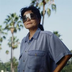 Japanese artist and musician Yoko Ono, 1988. (Photo by Nancy R. Schiff/Getty Images) Photo: Nancy R.