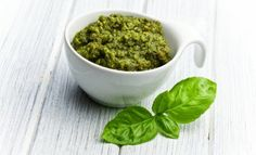 Pesto is a great addition for almost any food. Let's learn about many health benefits of Pesto? Candida Recipes, Paleo Recipes, Real Food Recipes, Cooking Recipes, What's Cooking, Delicious Recipes, Fresh Basil Pesto Recipe, Basil Pesto Recipes, Receta Salsa Pesto