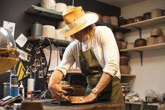 La premiere boutique de la marque de chapeaux Nick Fouquet a Venice Beach 16