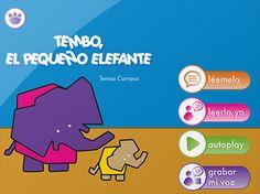 Tembo, el pequeño elefante: cuento interactivo para iPhone, iPad y iPod touch