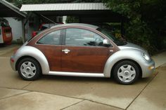 1999 Volkswagon Beetle with mahogany paneling