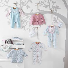 Spring lightly into designing her room with this bright and beautiful range for the nursery.