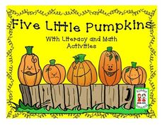 This delightful fingerplay/song includes:Literacy Activities:*Shared emergent reader*Kiddo take-home copy*Story wheel*Initial sounds (s,v,f,p,j)*Rhyming words (ub, ud, ug, un, up, us, ut, ux)Math Activities:*Addition and subtraction - facts to 5*Ordinal number practice*Measuring pumpkins*Graph and a surveyThank you very much!Kiddos Connect,Janice Marshall and Ann Rainwater