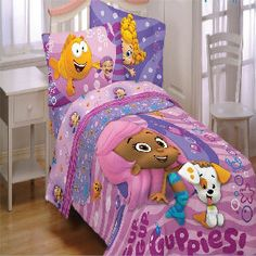 Bubble Guppies 4 Piece Bedding Set And Much More At Www
