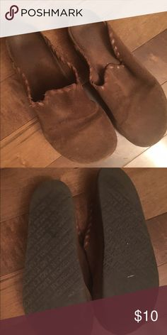 Slip on shoes by AE Worn in great shape super cute slide on American Eagle Outfitters Shoes Mules & Clogs
