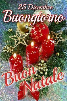 Merry Christmas In Italian, Christmas And New Year, Christmas Time, Christmas Wreaths, Christmas Bulbs, Christmas Decorations, Xmas, Holiday Decor, Italian Greetings
