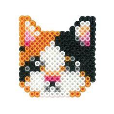 Cat perler beads More