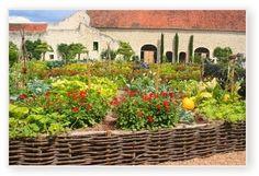 French potager garden (kitchen garden)