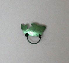 Fish Magnetic Eyeglass Holder by LauraWilsonGallery on Etsy, $45.00
