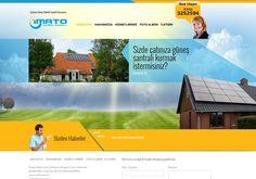imato Doğal Enerji ve Güneş Elektrik Santralleri Sitesi Tamamlanmıştır.