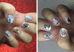 20 festive nail art designs from the interwebs.