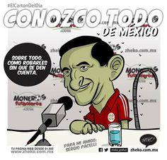 """""""Conozco todo de México"""" #ElCartonDelDia #zheko_grafico #disfruteloConLeche #MonerosFutboleros"""