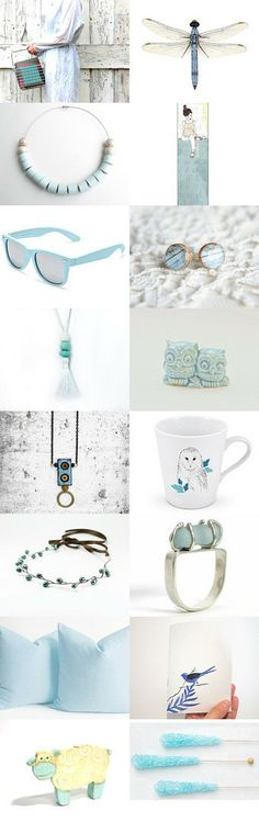 Light and Blue by Lefty on Etsy--Pinned with TreasuryPin.com