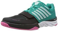 K-Swiss Women's X Court Cross Trainer Shoe, Dynasty Green/Shocking Pink, 7.5 M US