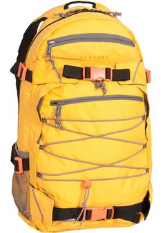 Forvert Ripstop-Louis, Backpack, yellow #Backpack #AccessoriesMale #titus #titusskateshop