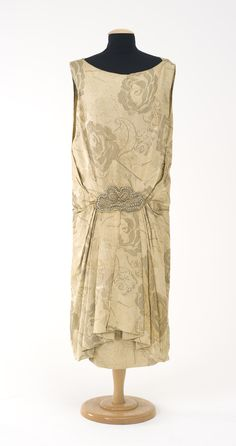 Evening dress made for May Camille McDonald (Dezarnaulds) - 1923 - by David Jones - Collection: Powerhouse Museum