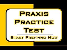 Praxis Practice Test -  Free Praxis Math Content http://www.praxissecrets.com  The topic covered in this video is only a small part of the Praxis Exam/Test; you'll find a ton of in-depth study materials for all Praxis subjects when you click the link above.  Relying on the right study materials is absolutely essential for success on the Praxis test. What you see in the video is merely a preview of the high quality prep materials in our Praxis study guide. #praxistest #mometrix