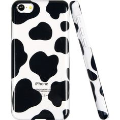 ESR the Beat Series Hard Clear Back Cover Snap on Case for iPhone 5C (Polka Dots):Amazon:Cell Phones & Accessories super cute cow print case!