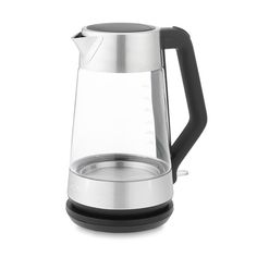 OXO On Clarity Cordless Glass Electric Kettle   Williams-Sonoma