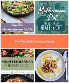 Easy Mediterranean Quiche Vegetarian, gluten free Simple and Savory.com mediterranean diet One Pan Mediterranean Quiche Mediterranean Chicken, Best Diet Plan, Gluten Free Diet, Best Diets, Quiche, Vegetarian, Dishes, Simple, Healthy