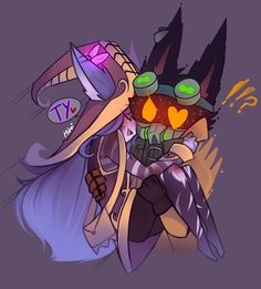 Lulu x Veigar By: Mimi @MimiLovesFoxes