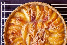Best and simplest peach dessert and good with other fruit as well. Simple crust, simple filling. You don't even peel the peaches!!