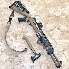 What's your home defense gun? Military Weapons, Weapons Guns, Guns And Ammo, Tactical Shotgun, Tactical Gear, Tactical Firearms, Armas Airsoft, Benelli M4, Combat Shotgun