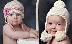 gorros a crochet para niños con orejas - Buscar con Google
