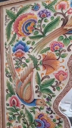 20 new Ideas painting glass wall beautiful 3d Wall Murals, Mural Wall Art, Mural Painting, Texture Painting, Fabric Painting, Art Deco Chair, Canvas Painting Tutorials, Indian Folk Art, Madhubani Painting